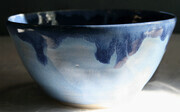 Blue bowl. $20