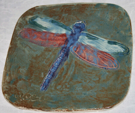 Donated - Dragonfly Tile
