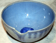 Sold - Glass bottom bowl