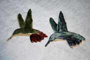 Sold. Hummingbird pair.