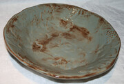 Sold - Large fruit motif bowl